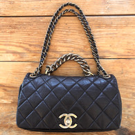 Chanel Rue Cambon Quilted Handbag