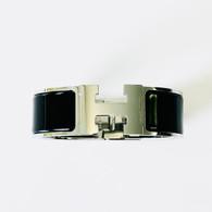 Hermès Clic Clac H Noir Bracelet