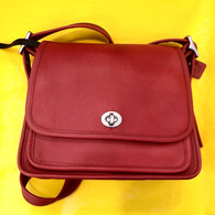 Private Listing Coach Red Crossbody