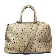 Bottega Veneta Ostrich Handbag