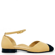 Chanel Two-Tone Flats