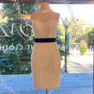 Private Listing Terani Couture Pearl Dress