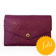 """Louis Vuitton """"Compact Curieuse"""" Wallet"""