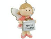 Personalised Cute Fairy Christmas Tree Decoration