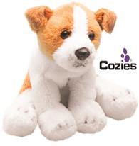Yomiko Classics 12.7cm Sitting Jack Russell soft toy Dog - by Suki