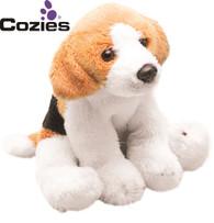 Yomiko Classics 12.7cm Sitting Beagle Dog - Soft Toy by Suki
