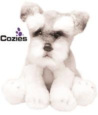 Yomiko Classics 12.7cm Schnauzer Dog - Soft Toy Puppy by Suki