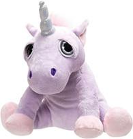 Suki Gifts Li'l Peepers Stuffed Toy, Shimmer Unicorn, Small
