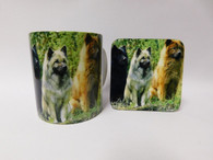 Eurasier Dog Mug and Coaster Set