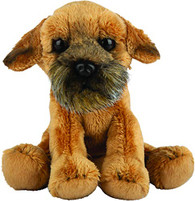 Border Terrier Dog Siting Cuddly Toy 12.7cm