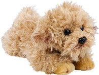 Realistic Labradoodle Resting Soft Toy, 30cm by Suki Gifts