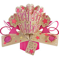 Suki Gifts International Pop Up Card Birthday Wishes, Multi-Colour