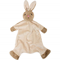 Beautiful Baby Bobtail Bunny Blankie by Suki Gifts
