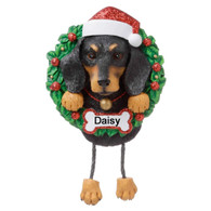 Personalised Dachshund Christmas Decoration by Polarx