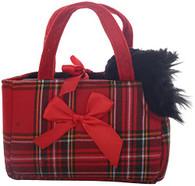 Aurora World 8-inch Fancy Pal Scottie in Tartan Bag