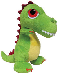 Suki Gifts Small, T-Rex Dino Green 17cm
