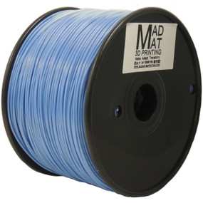 White to Blue Colour changing ABS on a 1kg spool Colour is changed by UV light and changes back once UV light removed.