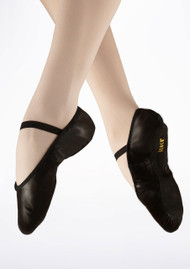 Bloch Black Leather Arise Ballet Shoe