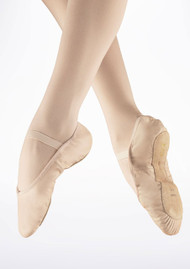 Bloch Pink Leather Arise Ballet Shoes