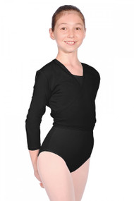 Roch Valley Black Cotton Ballet Cardigan