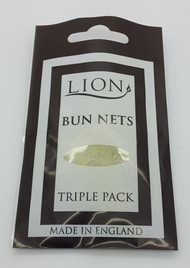 Lion Blonde Bun Net 3pk