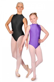 Roch Valley Turtle Neck Sleeveless Leotard