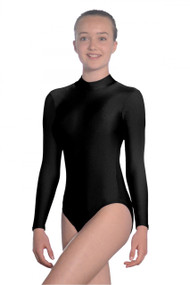 Roch Valley Turtle Neck Long Sleeve Leotard