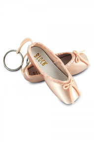 Bloch Pink Mini Pointe Keyring
