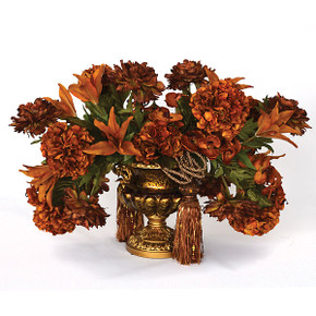 Golden Swirl Arrangement