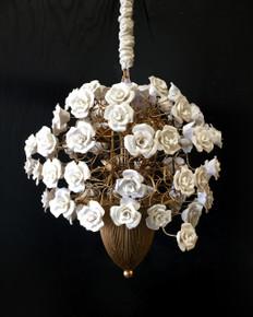 Blanco Flora Chandelier 12