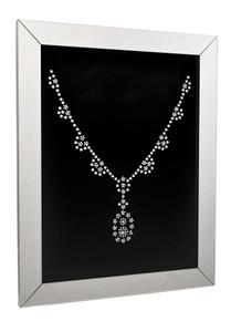 Crystal Shadow Mirror Necklace