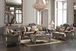 Cersei Silver Sofa Set of 3