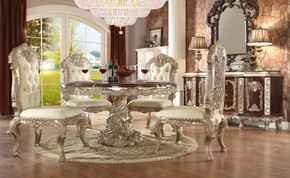 Milan 7pc Round Dining Set