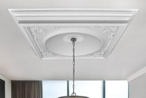 Elegant Large Dome Ceiling Medallion