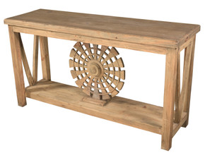 Farmhouse Provence Town Console Table