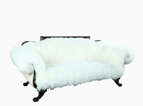 Sheep Fur Sofa