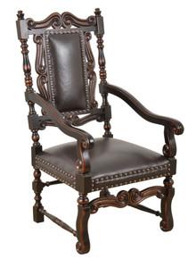 Conquistador Leather Chair