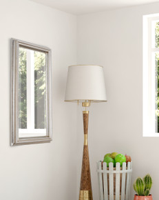 Simple Elegance Mirror Silver 12x24
