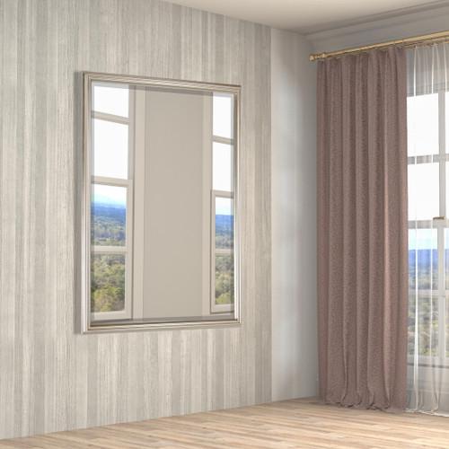 Simple Elegance Mirror 36X48 Silver