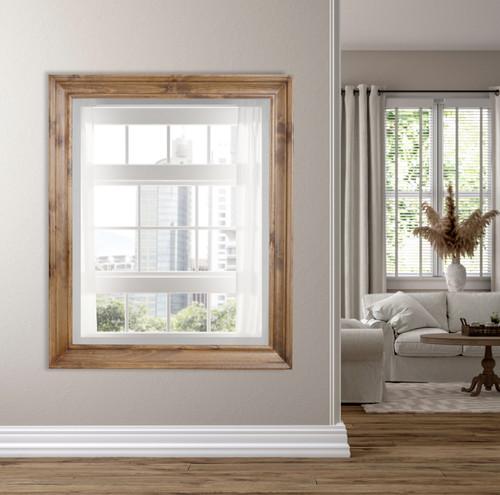 American Woodland Mirror 48x60 Wood Tone