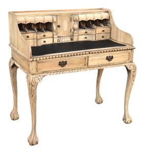 Farmhouse Style Escritoire Desk after Chippendale