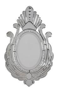 "Venetian Style Royal Peacock Mirror 36"""