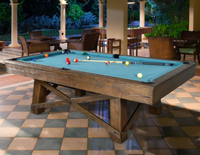 8ft Ashwood Slate Top Pool Table Craftsman
