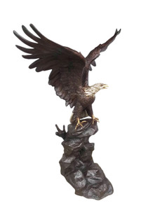 Eagle Perched Left 79 Inches Tall