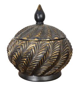 Copper and Black Vase Set of 2