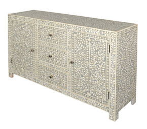 Puccini 3 Drawer 2 Door Dressing Chest