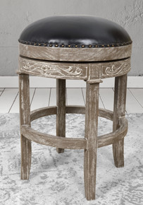 Mystique Brown New England Stool