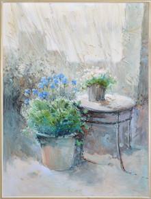 The Floral Bouqet Framed