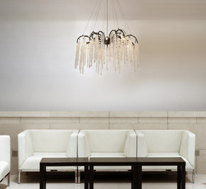 Crystal Forest Chandelier