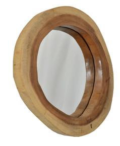 Suar Wood Large Mirror